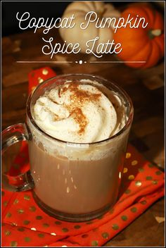 It's Pumpkin Spice season and now you can make it at home. This easy to make copycat coffeehouse recipe is made with real pumpkin puree and tastes creamy and delicious! #PumpkinWeek Easy Drinks To Make, Easy Drink Recipes, Drinks Alcohol Recipes, Coffee Recipes, Fun Drinks, Yummy Drinks, Delicious Recipes, Beverages, Dessert Recipes