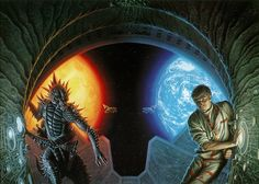 °Battle of 2 sides - Alien et Homme by MichaelWhelan