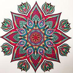 ColorIt Mandalas Volume 2 Colorist: Marla Theodoro #adultcoloring #coloringforadults #mandalas #mandalastocolor