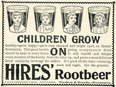 1895 Ad Charles E Hires Root Beer Carbonated Soft Drink -- A Lifetime Legacy -- http://alifetimelegacy.com