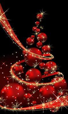 Merry Christmas Wishes - Sofia Hoffmann Christmas Tree Gif, Merry Christmas Animation, Merry Christmas Pictures, Merry Christmas Wallpaper, Christmas Scenery, Xmas Wallpaper, Merry Christmas Greetings, Christmas Bells, Christmas Decorations