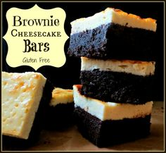 Homemade grain free brownie cheesecake bars without the junk ingredients!