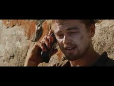 """That's alright, I am exactly where I am supposed to be."" Leonardo Dicaprio in Blood Diamond"