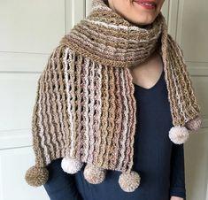 Easy Crochet Scarf Pattern for Women Crochet Scarf PATTERN