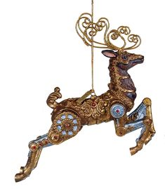 katherine-s-incredible-steampunk-reindeer-ornament-gear-christmas-journey-collection-1.gif (1050×1200)
