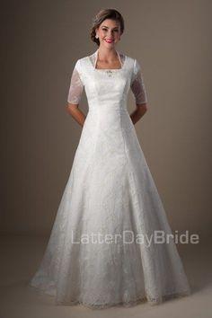 modest wedding dresses Chandwick