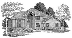 Eplans New American House Plan - This Two-Story Has it All - 2198 Square Feet and 3 Bedrooms from Eplans - House Plan Code HWEPL03589