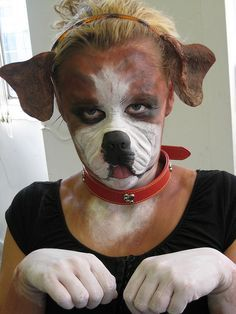 ▷ Really cute dog/puppy makeup tutorial - YouTube | Halloween ...