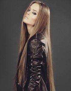 Long, long hair