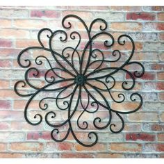 Outdoor Scroll Wall Art Enchanting Metal Wall Scrollwall Decorbohemianmetal Wall Decorrustic 2017