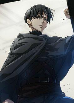 """Levi Ackerman """"L"""" Anime: Shingeki no Kyojin- … – Art Ideas Levi Ackerman, Anime Sasuke, Manga Anime, Anime Art, Attack On Titan Fanart, Attack On Titan Anime, Eren E Levi, Armin, Levi Mikasa"""