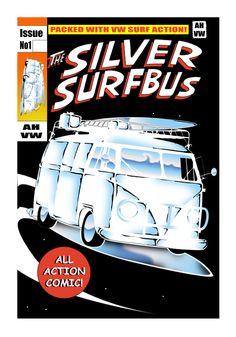 Silver surfbus