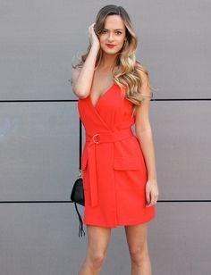 Amanda Uprichard Vista Dress in Candy Apple | Dresses | Amanda Uprichard | Swank Boutique http://www.swankboutiqueonline.com/vista-dress-in-candy-apple/