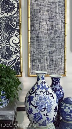 Small space solutions & Interior Design From a simple shift to shopping thrift plus style sourcing with local love. Framed Fabric, Fabric Wall Art, Diy Wall Art, Wall Art Decor, Indigo Walls, Focal Wall, Small Space Solutions, Frames On Wall, Creations