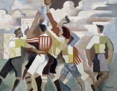 <b>Diffusion du sport dans la société française</b> <br> <br>Le développement du sport moderne en France a des origines diverses. L'ascendance britannique compte au nombre de celles-ci puisque c'est dans la société victorienne que sont nés bon nombre de jeux de ballon, appelés à une renommée mondiale tels le football ou le rugby, de même que le <i>rowing</i> (l'aviron) ou le <i>skating</i> (le patinage). Le sport, découlant aussi d'autres traditions purement françaises (escrime, vélo) ou…