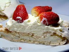 Denny Baptista: Receitinha - Pavlova diet