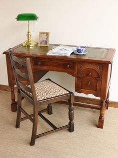Antique Furniture, Office Desk, Antiques, Home Decor, Antiquities, Desk Office, Antique, Decoration Home, Desk