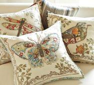 Pottery Barn pillows are so spring!