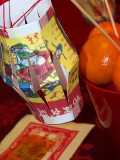 chinese new year lantern craft