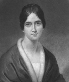"""Frances Sargent Osgood (née Locke) (June 18, 1811 – May 12, 1850) was an American poet and one of the most popular women writers during her time. Nicknamed """"Fanny,"""" she was also famous for her exchange of romantic poems with Edgar Allan Poe."""