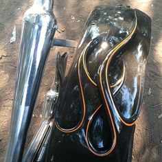 3d flames. Car Painting, Body Painting, Custom Motorcycles, Cars And Motorcycles, 1946 Chevy Truck, Sheet Metal Work, Airbrush Art, Pinstriping, Bike Design