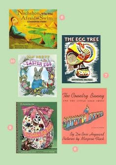 Ten Great Books for Spring, Easter and Passover.