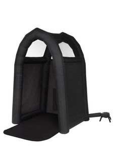 We're simply drooling over this spray tan tent!