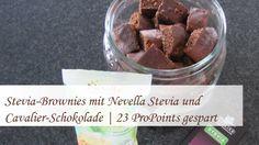 #Weight Watchers #Food | Stevia-Brownies | 23 WeightWatchers - ProPoints gespart | Rezept