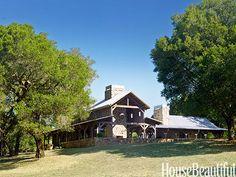 Natural Modern House - Barn Style House - House Beautiful