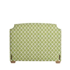 Custom Upholstered Fillmore Headboard with Nailheads in Designer Fabrics | Serena & Lily