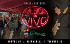 musica EN VIVO La Pasiva portada