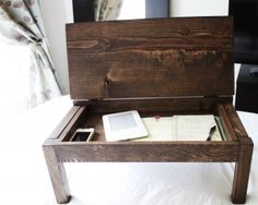 Diy Lap Tray With a Storage Compartment