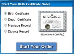 how to get your live birth record