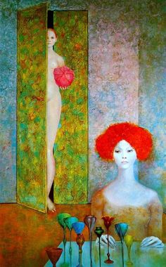 Leonor Fini (1907 – 1996) Argentine surrealist painter