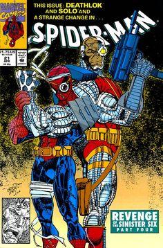 Spider-Man #21 by Erik Larsen