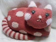 Ravelry: MeganLane's Kitty Pyjama Bag
