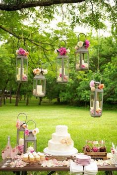 Beautiful Garden wedding / reception ideas  Rob & Jessica 2014
