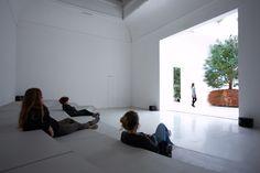 céleste boursier-mougenot plants a kinetic forest at the venice art biennale