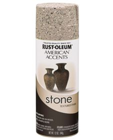 refinish countertops with Rustoleum American Accents Stone with a clear top coat for extra protection (9 colors available)