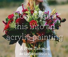 Learn how to paint with acrylics for beginners