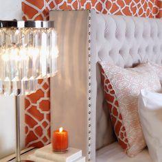 Blissful bedside...