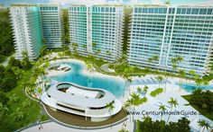 www.CenturyHomeGuide.com  The AZURE Urban Resort Residences is expected to have 9 buildings that seek to set a new benchmark for 21st century tropical living.
