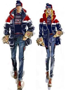 Team USA is announcing their opening ceremony uniforms for the 2018 Winter Olympics, which will take place in South Korea.
