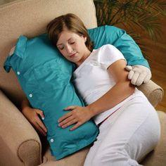 .... man pillow....half a man....