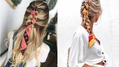 Bruna Ribeiro: CABELO: PENTEADOS COM LENÇOS Hair Beauty, Hairstyles, Inspiration, Hairstyles With Scarves, Different Hairstyles, Simple Hair Updos, Horse Tail, Hair Type, Curly