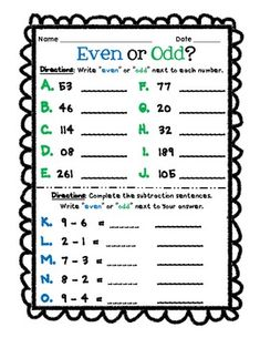 Odd And Even Number Charts And Student Worksheets Math Fun Hundred Number Chart Even And Odd Even And Odd Number Assessment