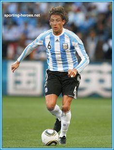 Gabriel Heinze - Argentina - FIFA Copa del Mundo 2010