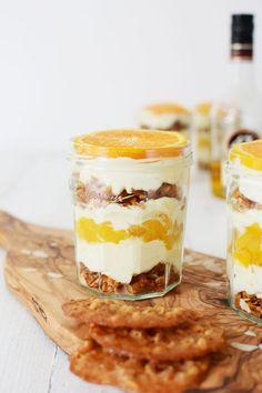 Sinaasappeltiramisu met perzik en Licor 43   De Sandwichformule.nl   Bloglovin'