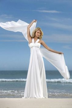 Concise A Line Straps Beach Wedding Dresses With Ruffles USD 133.09 EPPDZ2G2NL - ElleProm.com -  For more amazing deals visit us at http://www.brides-book.com/#!brides-book-outlets/ck9l and remember to join the VIB Ciub