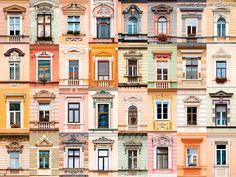 André Vicente Gonçalves photo from Brasov windows House Sketch, House Drawing, Castle Window, Goncalves, House Elevation, Window Design, House Painting, Architecture Details, Ramen